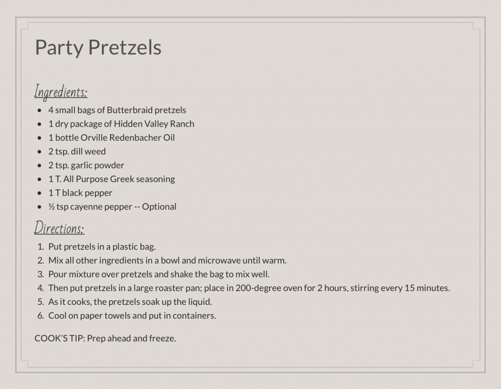 Pretzles