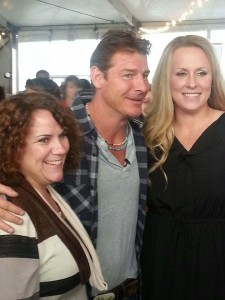 Five home cooks traveled last October to the Big Apple where their grand prize-winning recipes were served during the New York City Wine & Food Festival. Iowa's own Cristen Clark is pictured at right with TV personality Ty Pennington, former host of Extreme Home Makeover; Jill Gilber, another grand prize winner, is pictured at left.