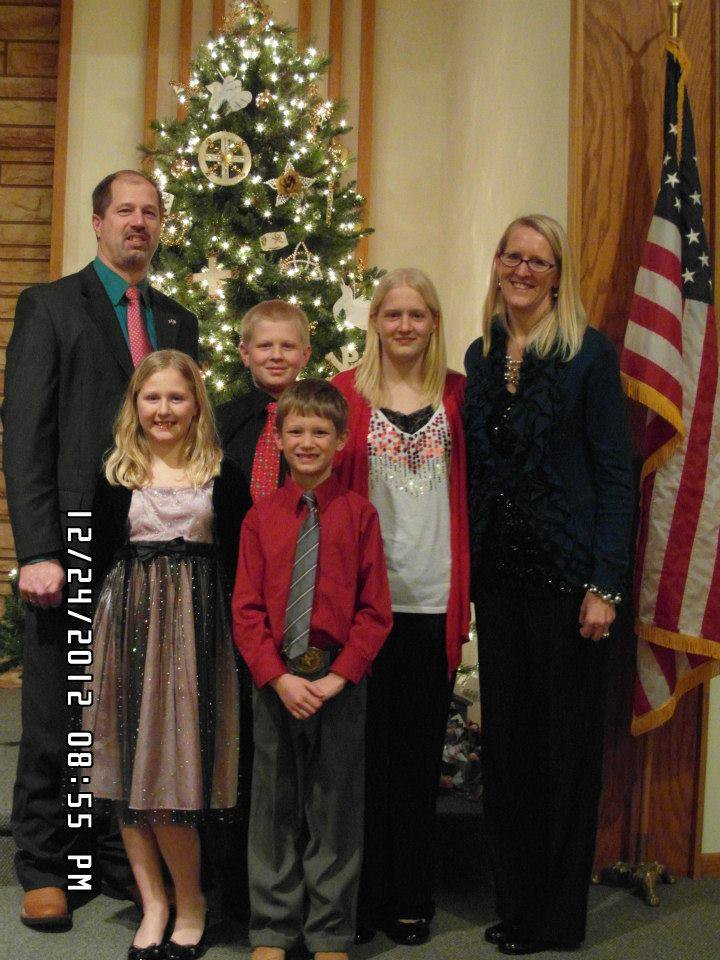 Home for the holidays! Christmas is always a special time of the year, but Amy Eberling says Christmas 2012 was all the more special because she was home from Afghanistan.