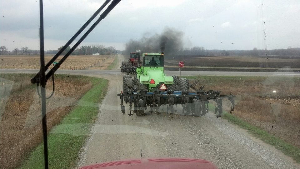 Farming is family affair ripping with Dad and Brother