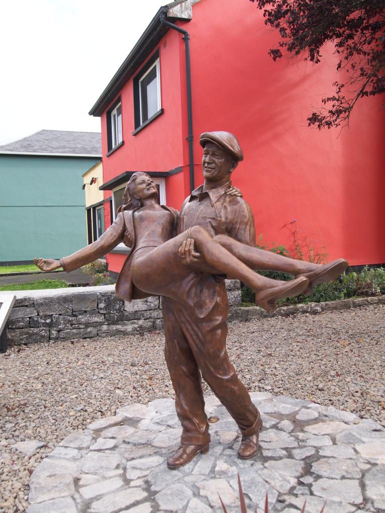 John Wayne statue in Ireland