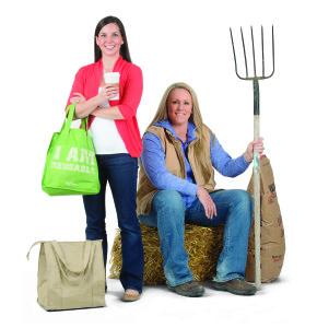 """Iowa Girl Eats"" blogger Kristen Porter and ""Food and Swine"" blogger Cristen Porter are teaming up for a food journey across Iowa."