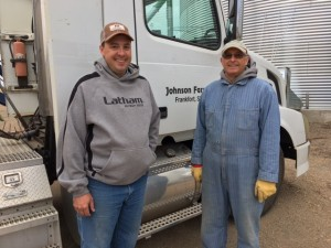 Brian Johnson has farmed with his parents, Alan and Carol, since 2005