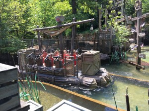 It was a hot hot day during our visit to Silver Dollar City. The water rides and unlimited drink wristbands were perfect to help keep cool.