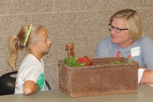 Keri volunteers her time by judging 4-H projects at the state and county level.