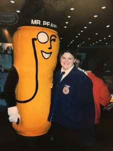 Lindsey at her first National FFA Convention.