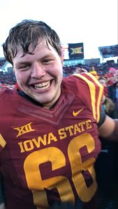 Josh after ISU beat TCU