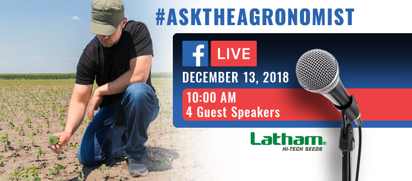 Ask the agronomist facebook 820 x 360