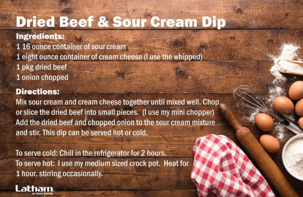 Dried Beef & Sour Cream Dip