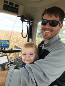Farming with dad