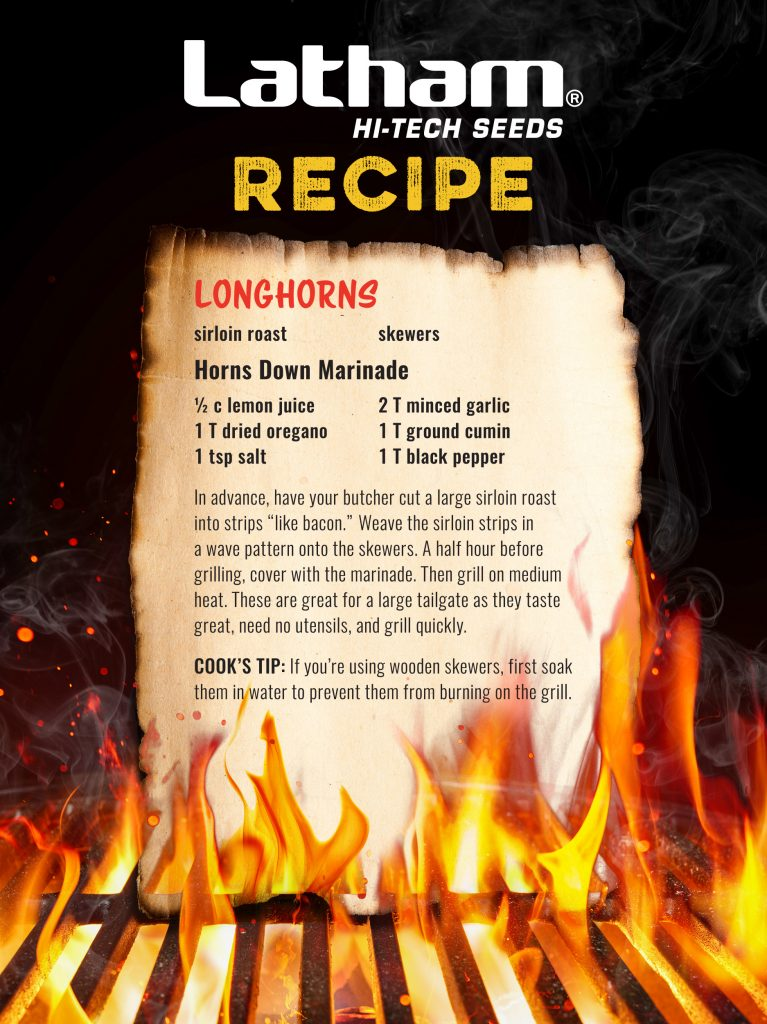 Latham Horns Down Marinade