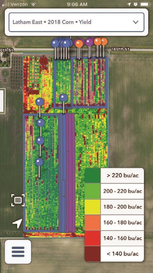 Now There's a FieldView™ Cab App for iPhones! - Latham Hi