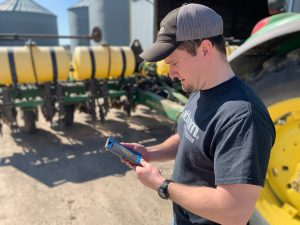 Precision ag on phone 1