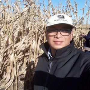 AD corn farmer