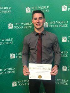Ian Latham Borlaug Scholar