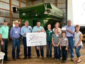 Johnson Farms recently was awarded the 2019 South Dakota Leopold Conservation Award.