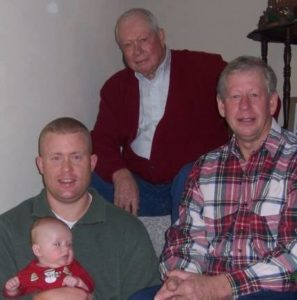 4 generations of the Dial family