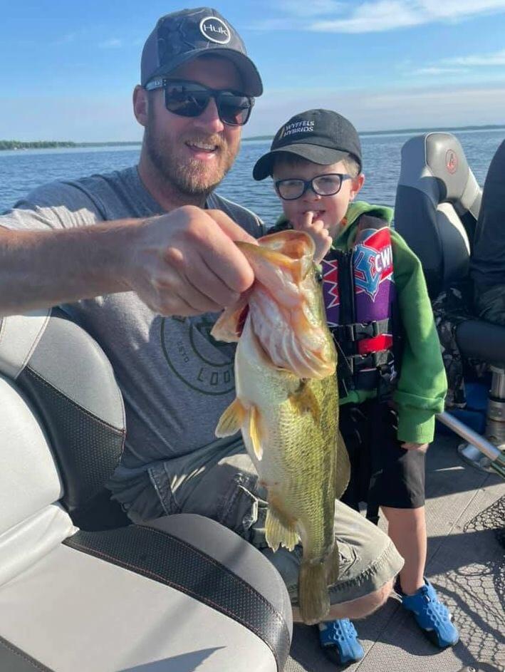 Landon & Grady Fishing